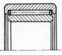 Подшипники роликовые радиальные с длинными цилиндрическими или игольчатыми  роликами